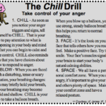 Helping Children Manage Their Worries and Fears:  Part 4 – The Chill Drill